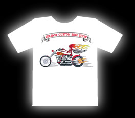 Belfast Custom Bike Show T-Shirt